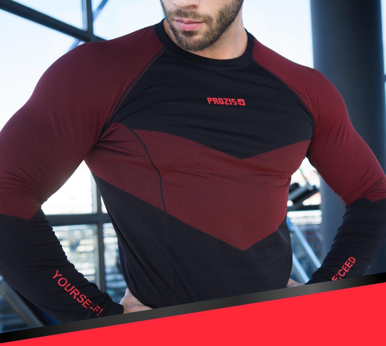 f7ad483c823 X-Skin Long sleeve T-shirt - Flow-Runner - Men