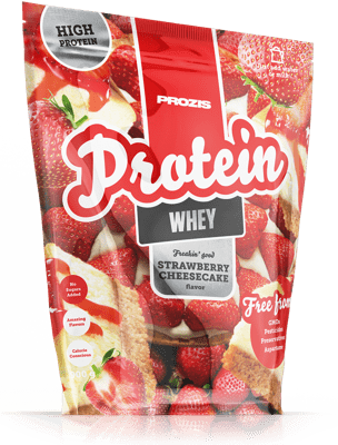 Protein Whey Strawberry Cheesecake