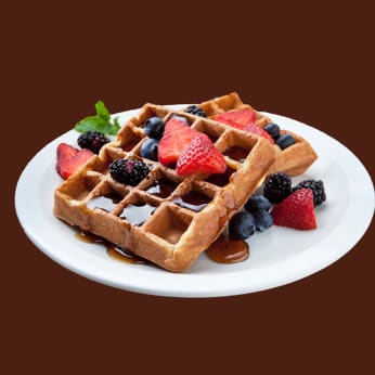 Protein Whey Waffles