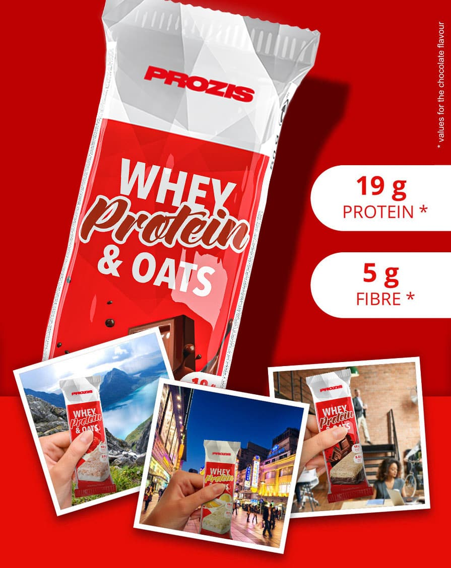 Whey Protein & Oats Bar