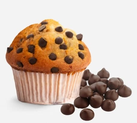 Muffins Choco chips flavour