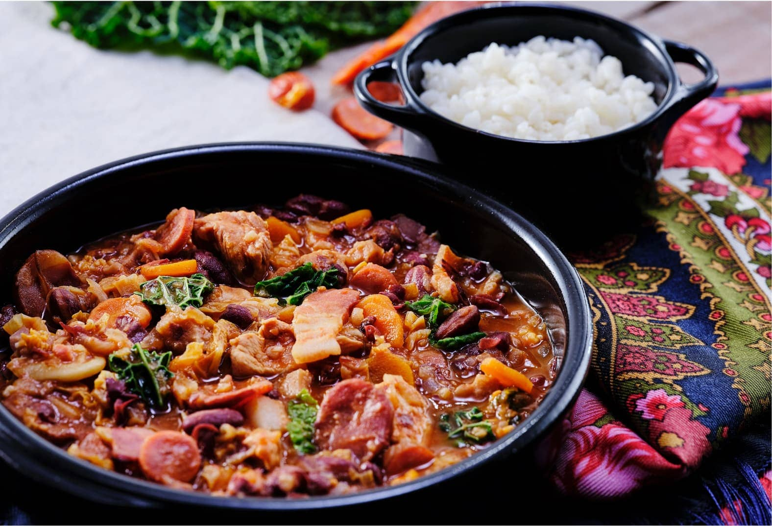 Portuguese Feijoada à Transmontana Bean Stew & Rice - Lunch & Dinner |  Prozis