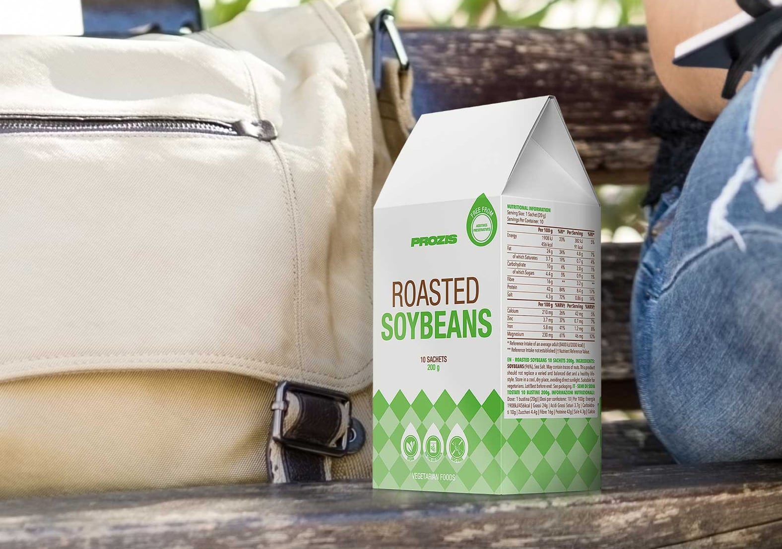 Roasted Soybean 10 Sachets