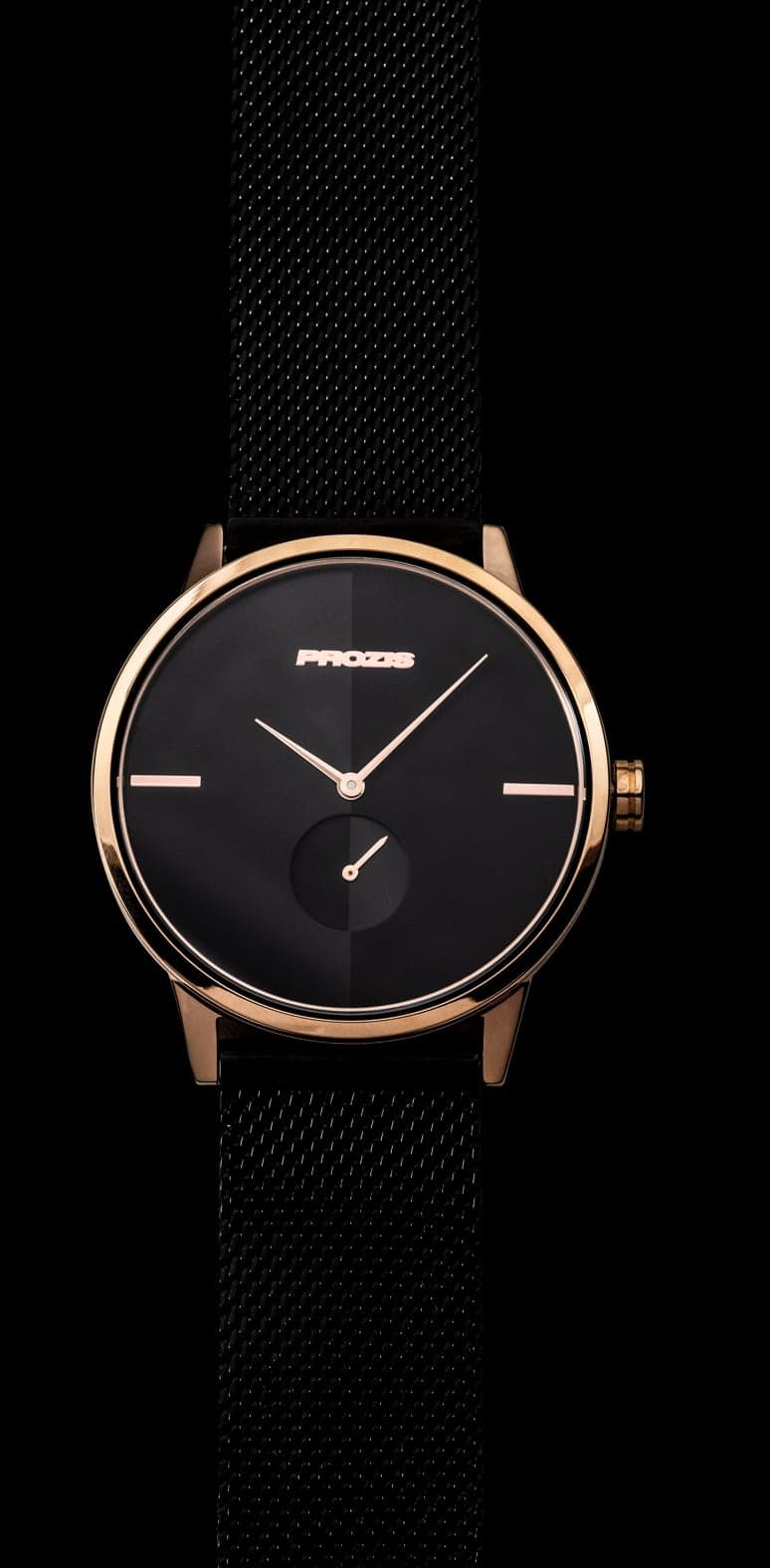 Prozis Watch - Split-Second Golden Black