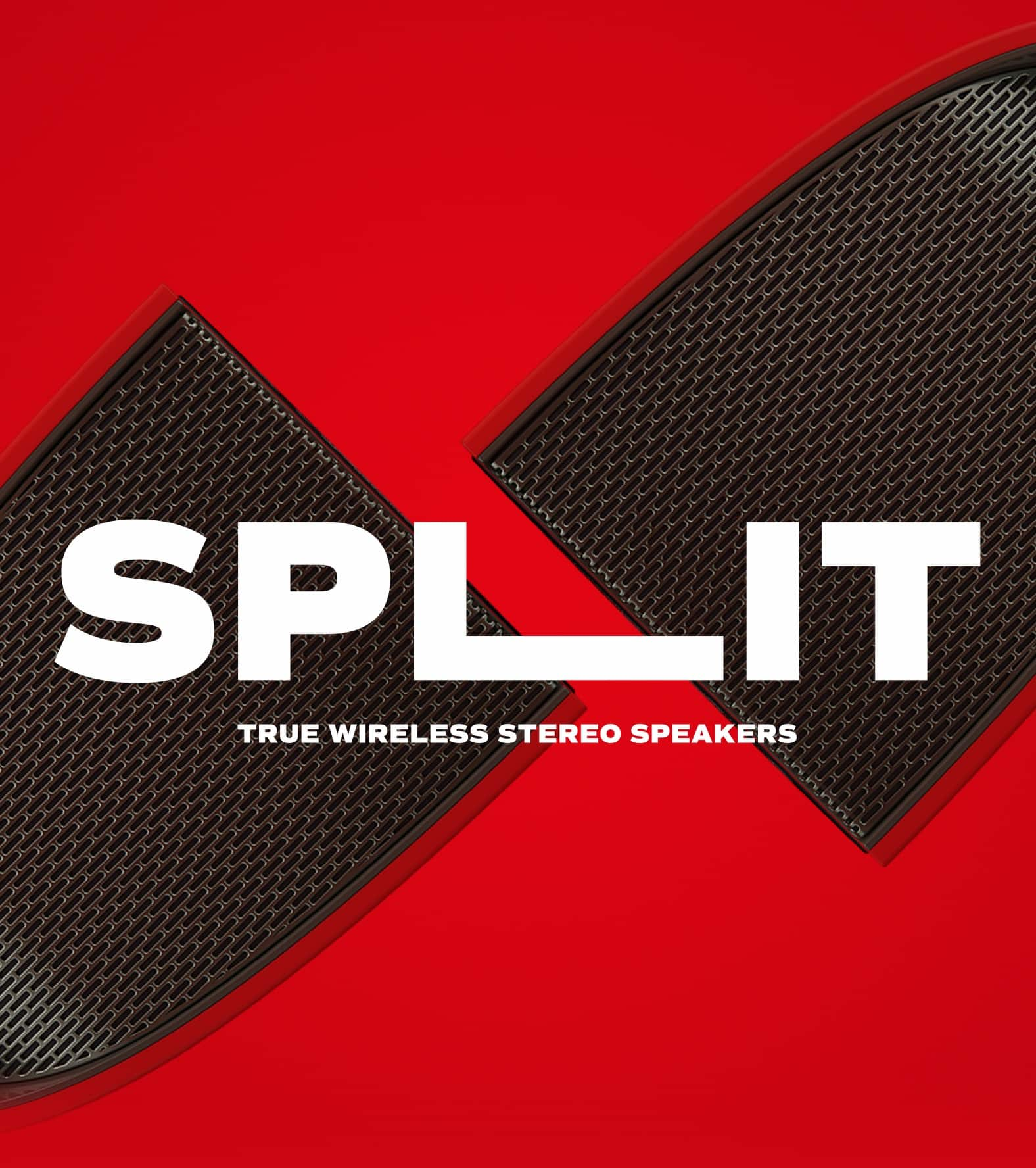 Split Wireless Stereo Speakers