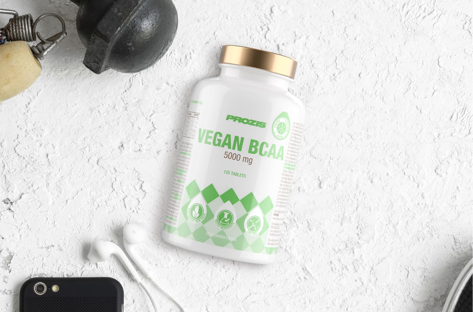 Vegan BCAA 5000 mg