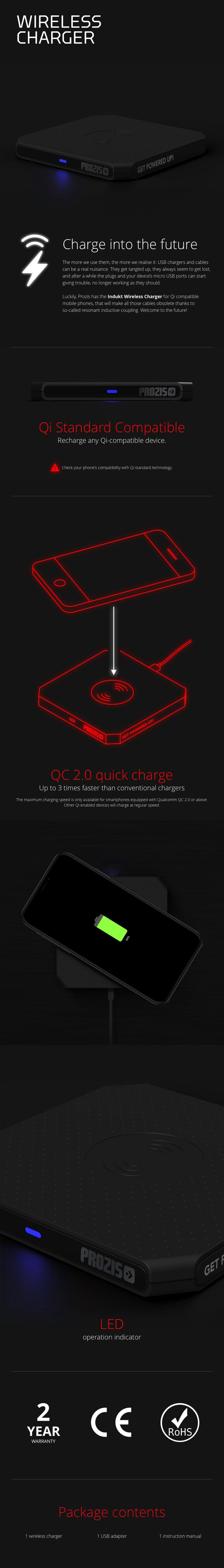 Wireless Charger2 - description