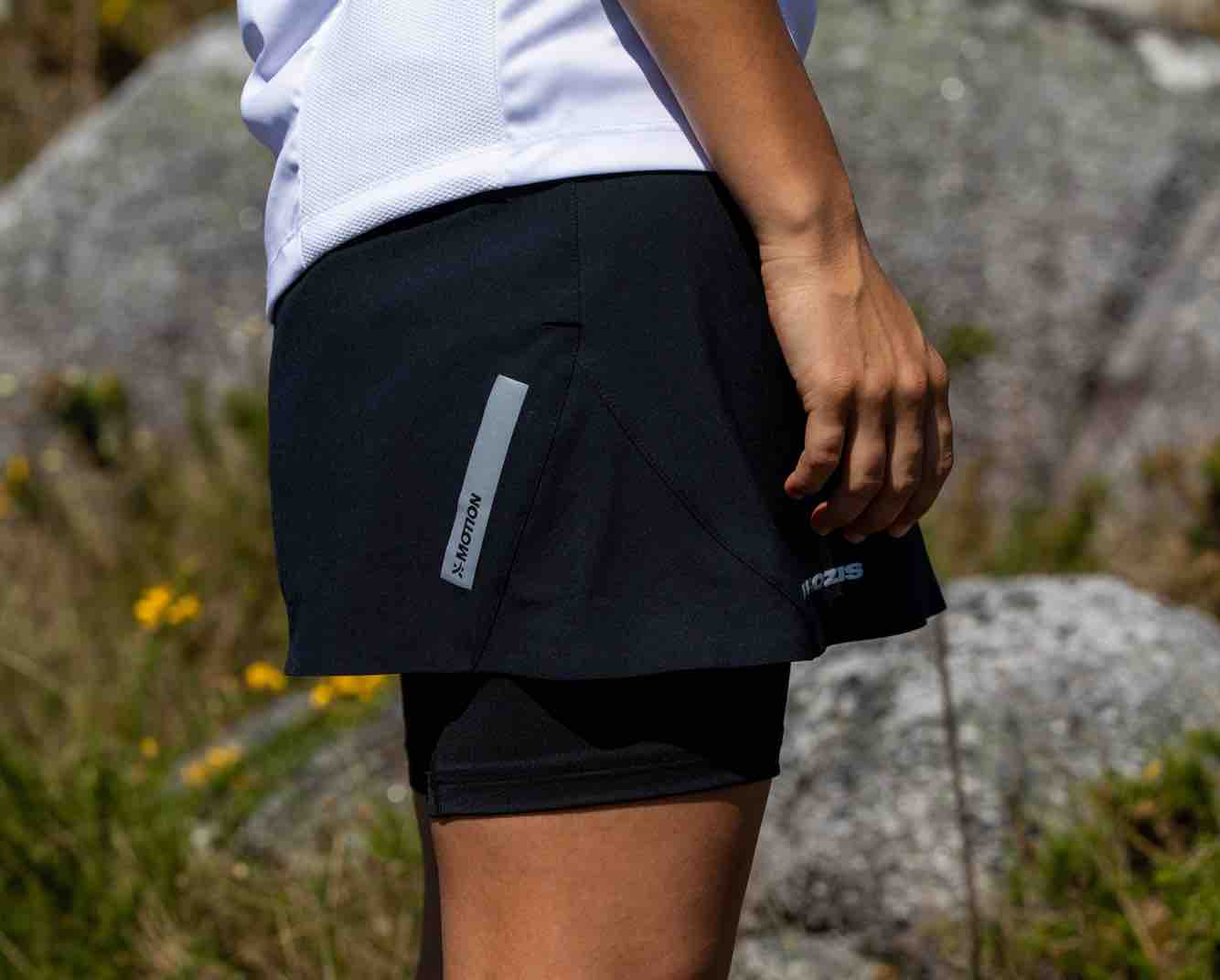 X-Motion Trail Double Shorts