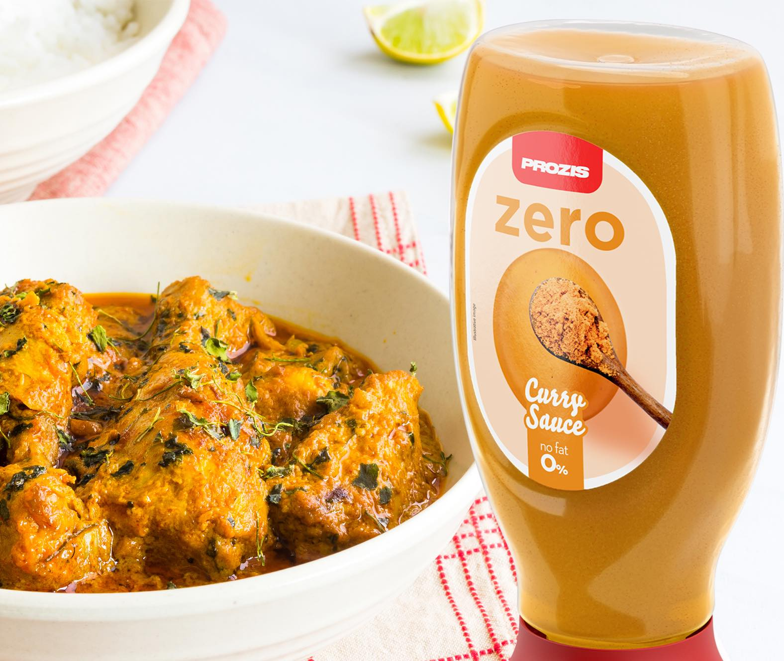 Prozis Zero Curry Sauce