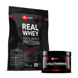 100% Real Whey 1250g + Glutamina 150g
