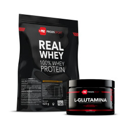 100% Real Whey 625g + Glutamina 150g