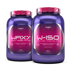 W-ISO 100% Whey Hydro Isolate 900 g + WAXY Waxy Maize Matrix 1000 g