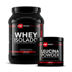 Whey Isolado 900 g + Leucina Powder 200 g