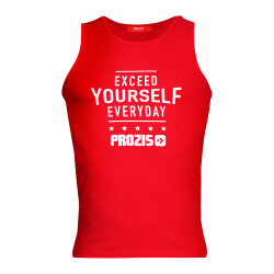 T-shirt senza maniche Exceed yourself