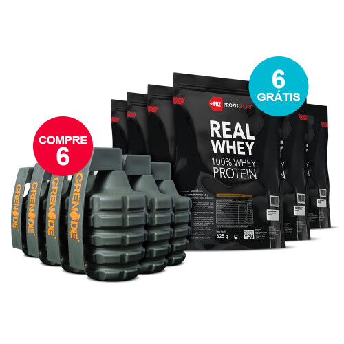 KIT Grenade + Real Whey 625 g