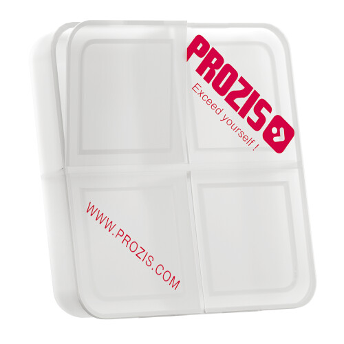 Prozis pill box with 4 compartments